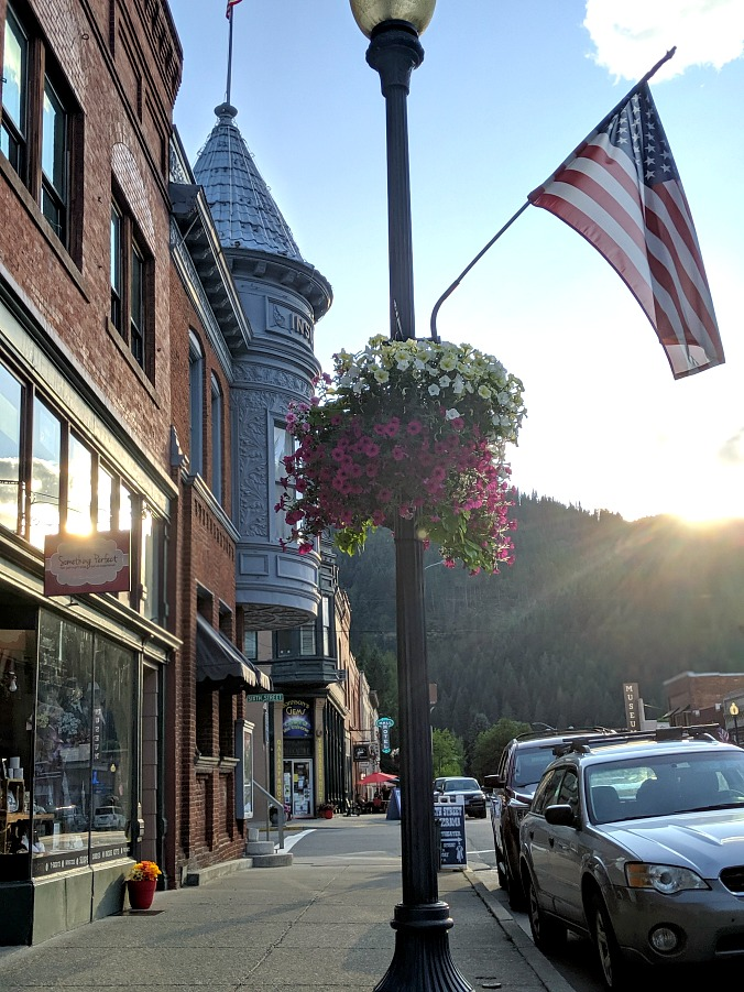 Downtown Wallace Idaho