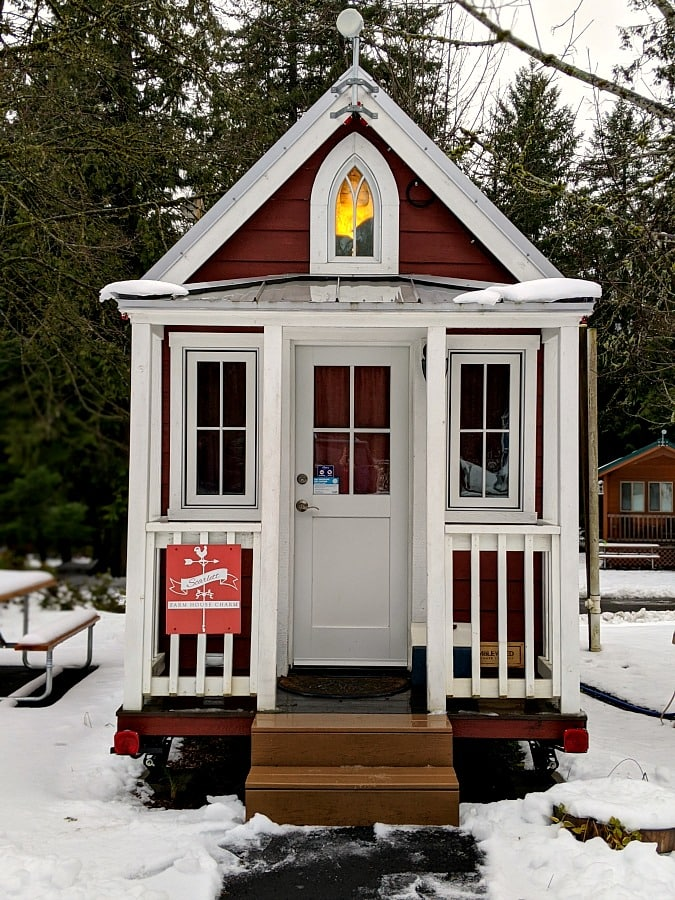 Mt Hood Scarlett Tiny House