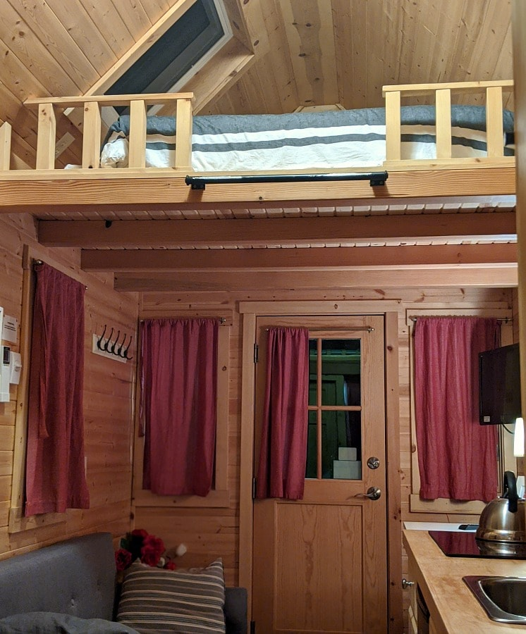 Mt Hood Tiny House Loft