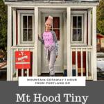 Mt Hood Tiny House an Hour from Portland Oregon