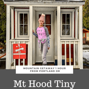 Mt Hood Tiny House an Hour from Portland Oregon