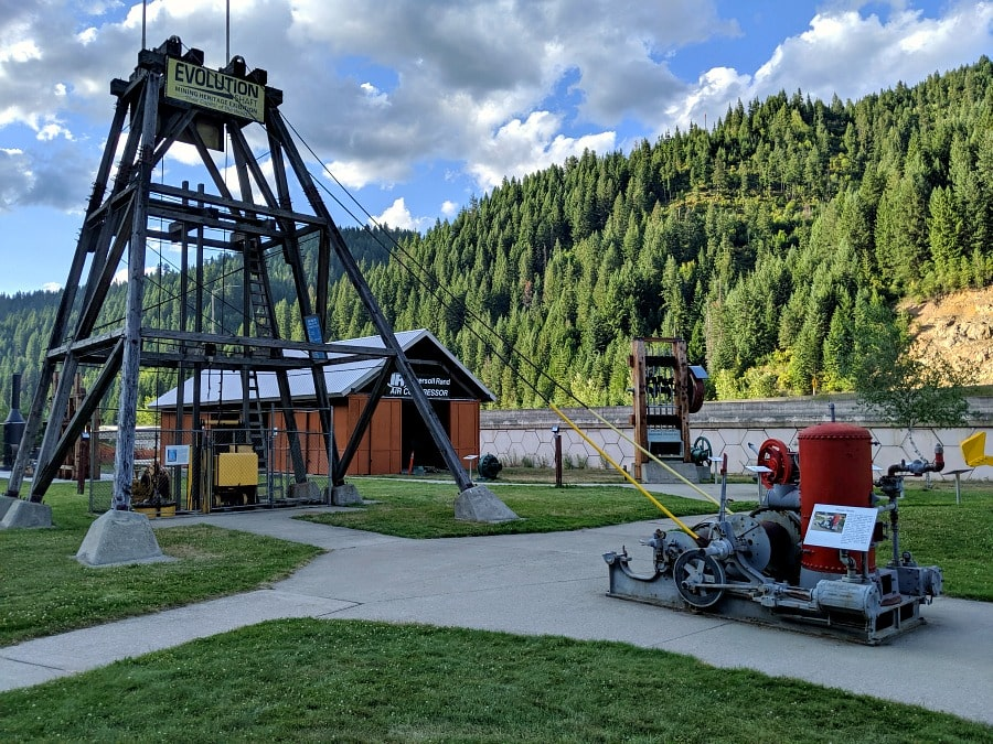 Northern Idaho Mining Park in Wallace