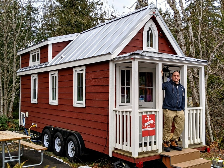 Scarlett Tiny House at Mt Hood