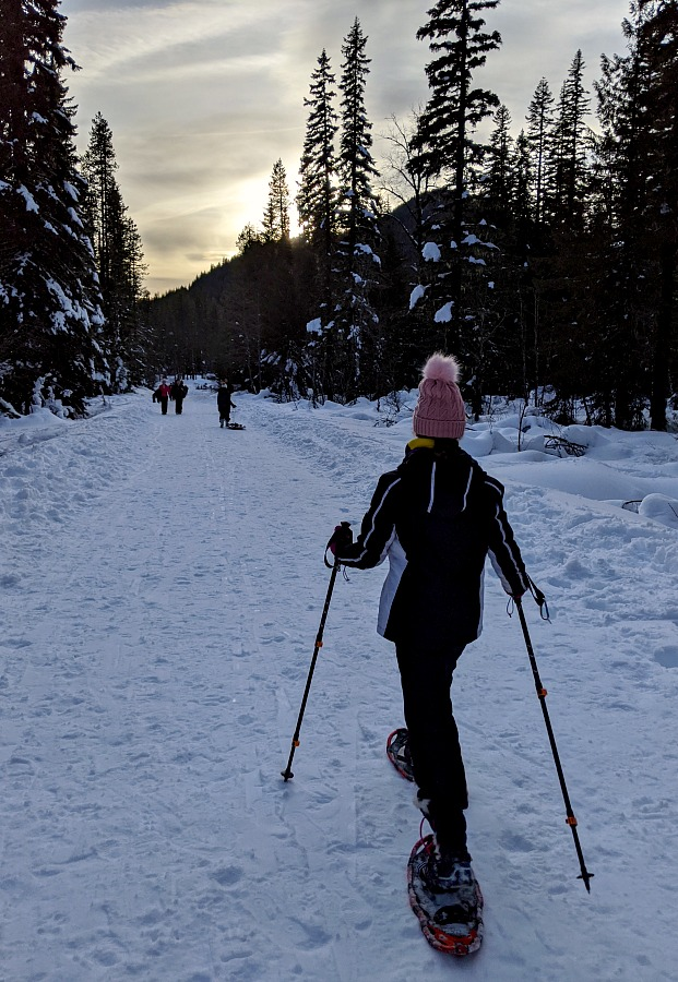 Snowshoeing at Mt Hood