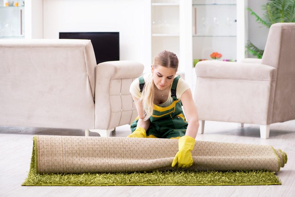 removing carpets