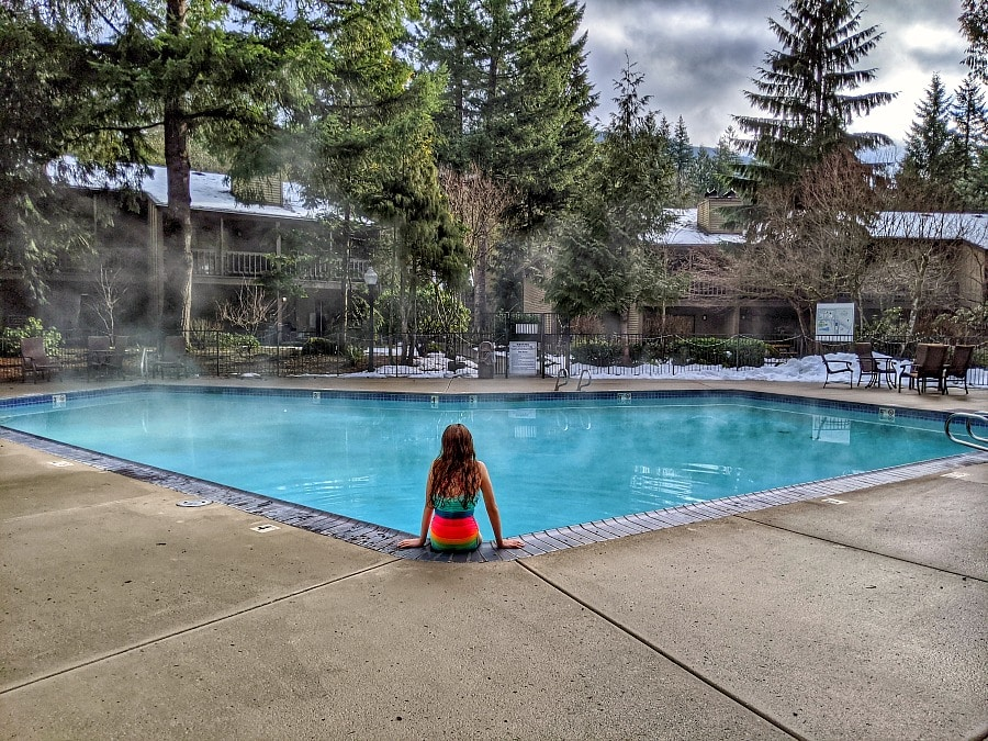 Mt Hood Oregon Resort Pool