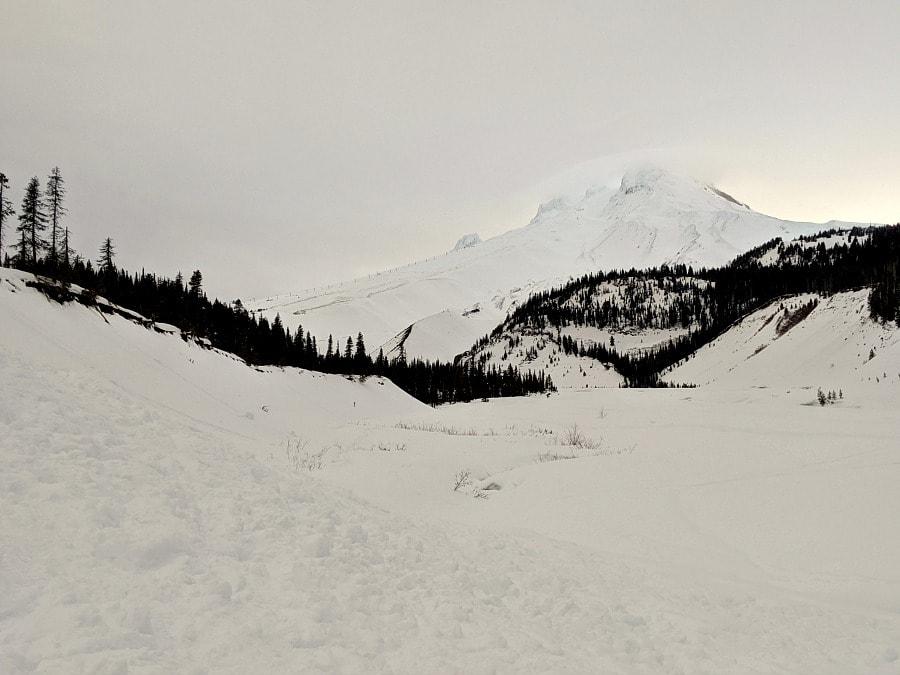 Mt Hood White River Sno Park Snowshoeing