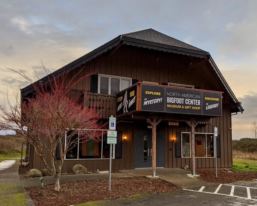 North American Bigfoot Center at Mt hood Oregon