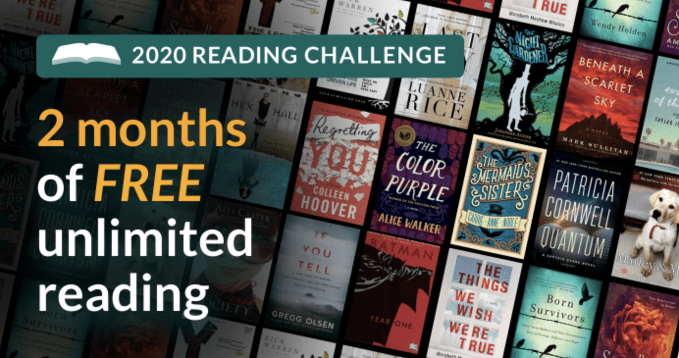 Kindle Unlimited 2 mos free