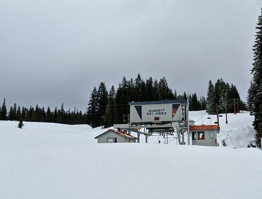 Summit Ski Area at Mt Hood
