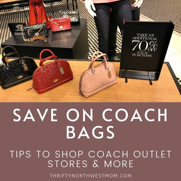 Coach Factory Outlet Sale – Up to 70% Off & FREE Shipping – Plus Tips to Save the Most on Coach Bags!!