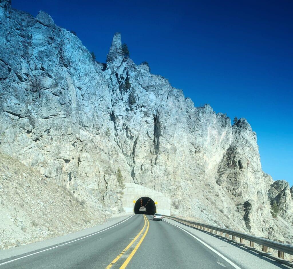 Tunnel to Lake Chelan