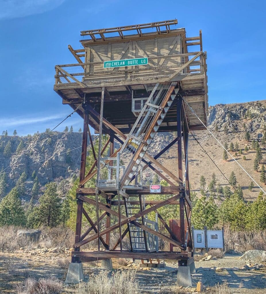 Fire Towers at Chelan Butte Trail