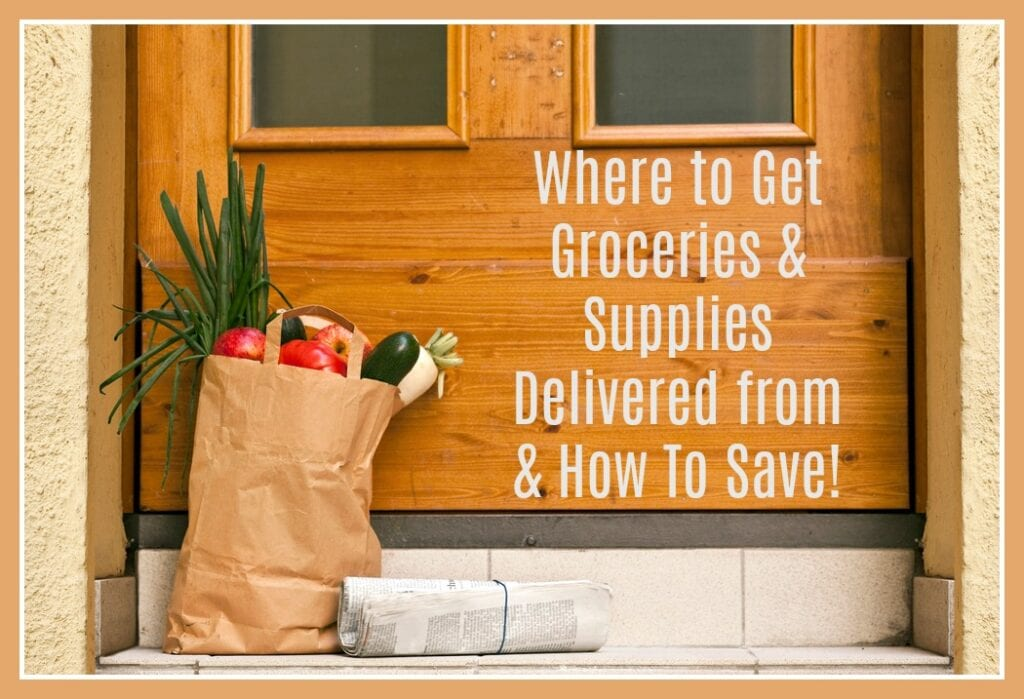 Online Shopping Resources, Delivery & Pick Up Options + Savings & Deals!