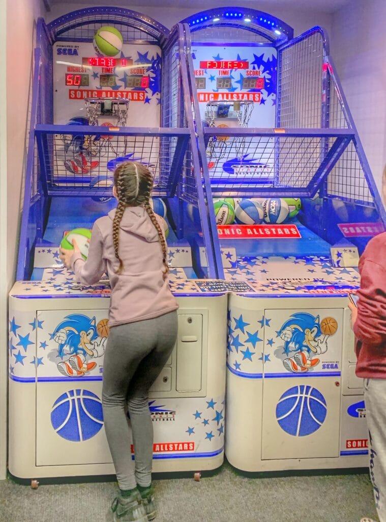 Arcade Games at Lake Chelan Bowling