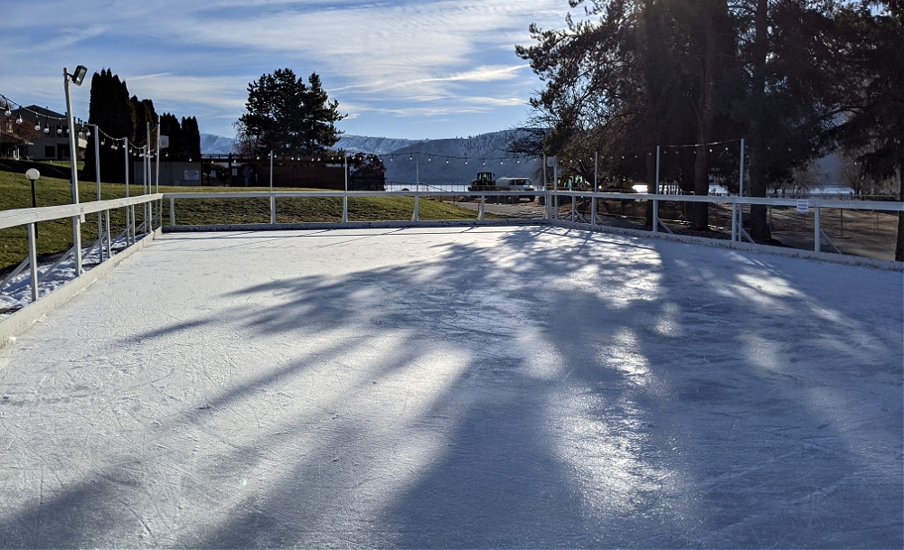 Ice Rink at Wapato Point