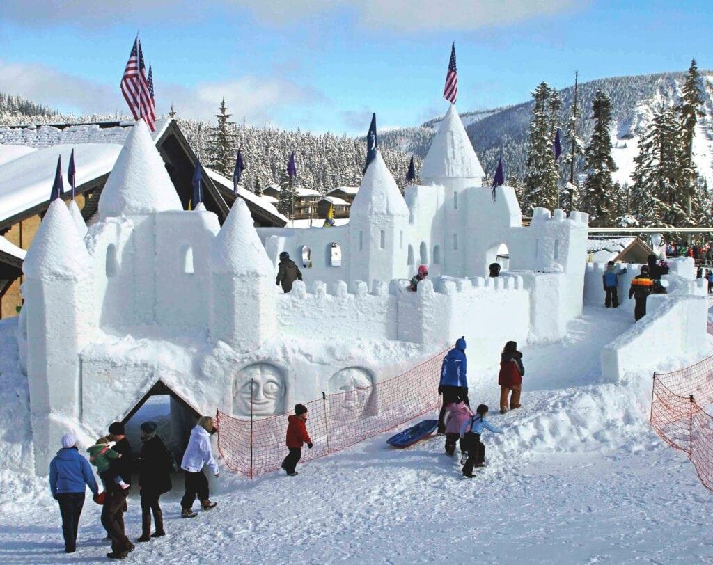 Ice Castle at Lake Chelan