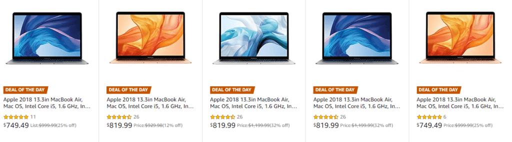 Apple Macbooks refurbished