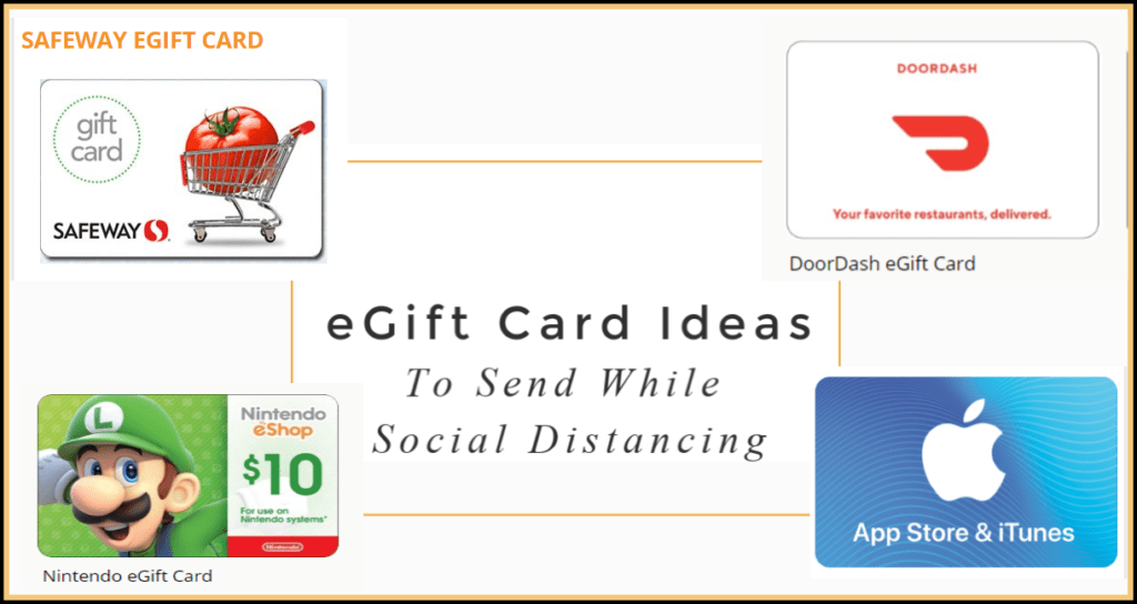 eGift Cards You Can Send Someone During Social Distancing