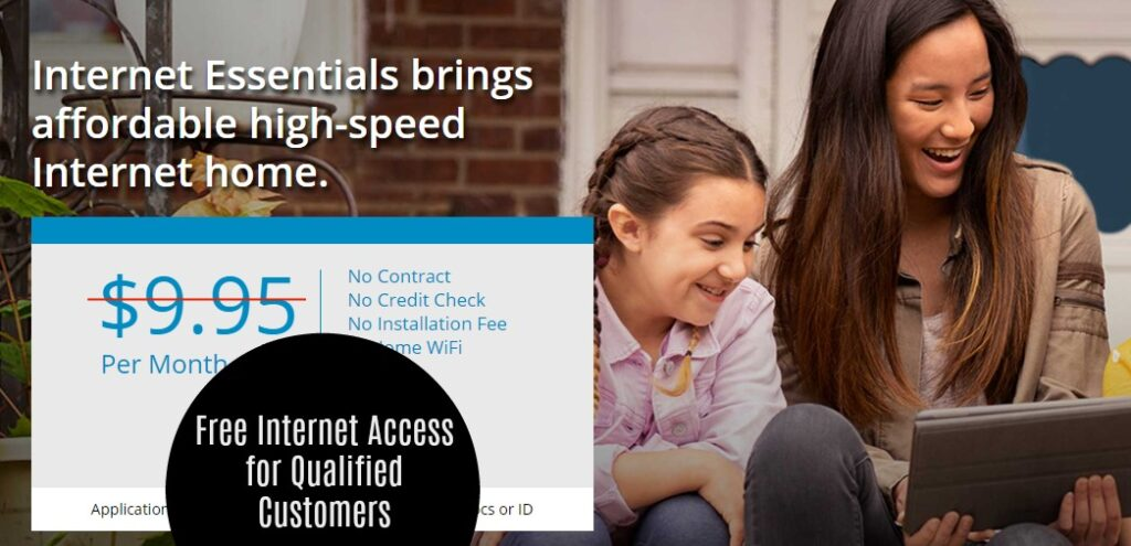 Free Internet Access for 60 Days From Comcast For Low Income Qualifiers!