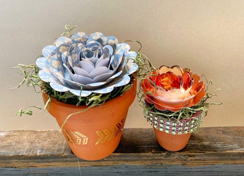 Making DIY Paper Flowers