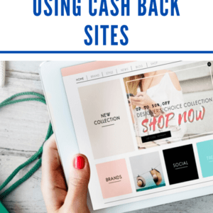 How to save money using cash back sites