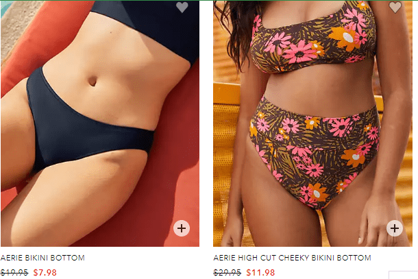 aerie swim wear on sale