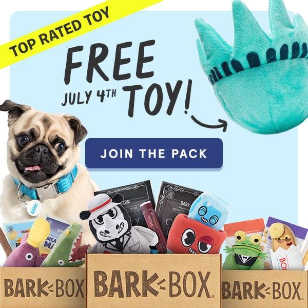 Barkbox free toy