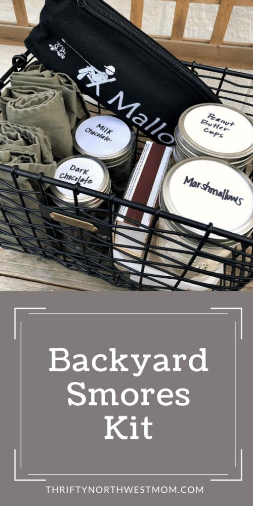 Backyard S'mores Kit for Summer!