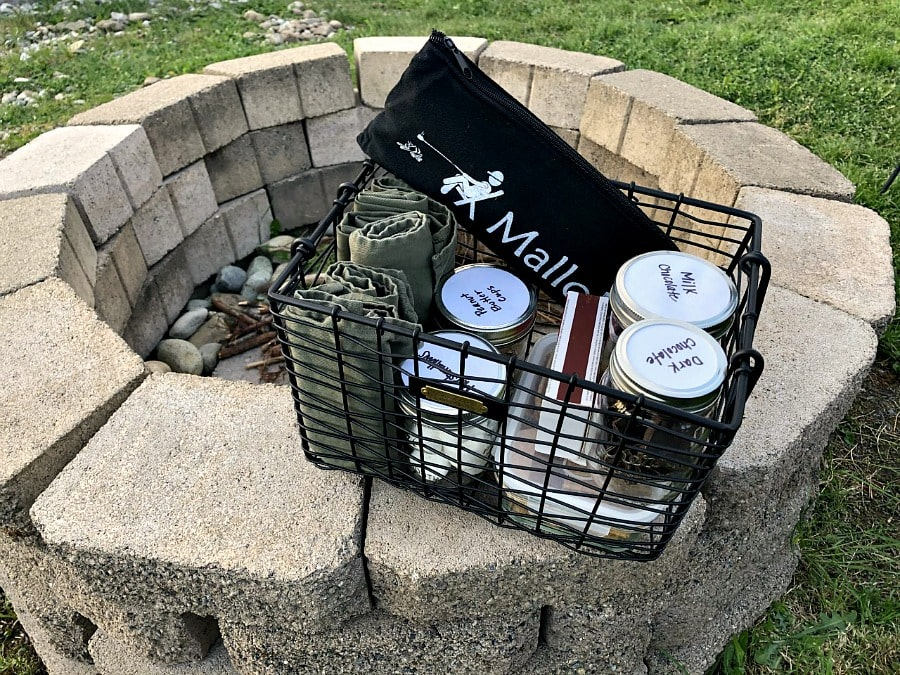 Backyard Smores Kit for the Fire Pit