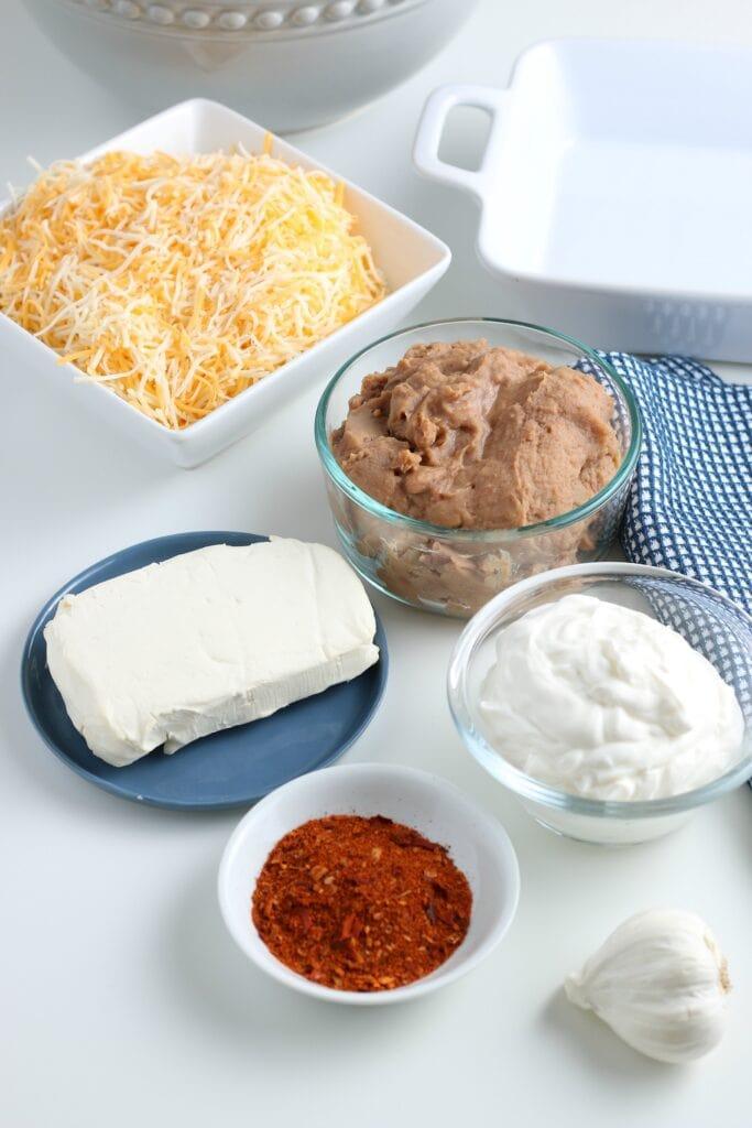 Refried Bean Dip Ingredients