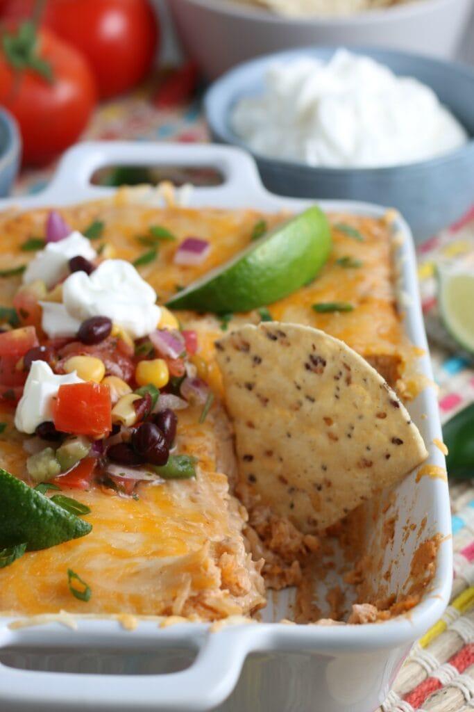 Refried Bean Dip Recipe