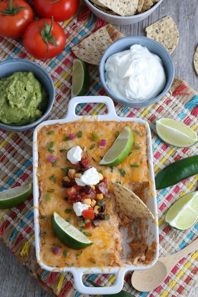 Easy Mexican Bean Dip Recipe – 5 Minutes to Prep & So Delicious!