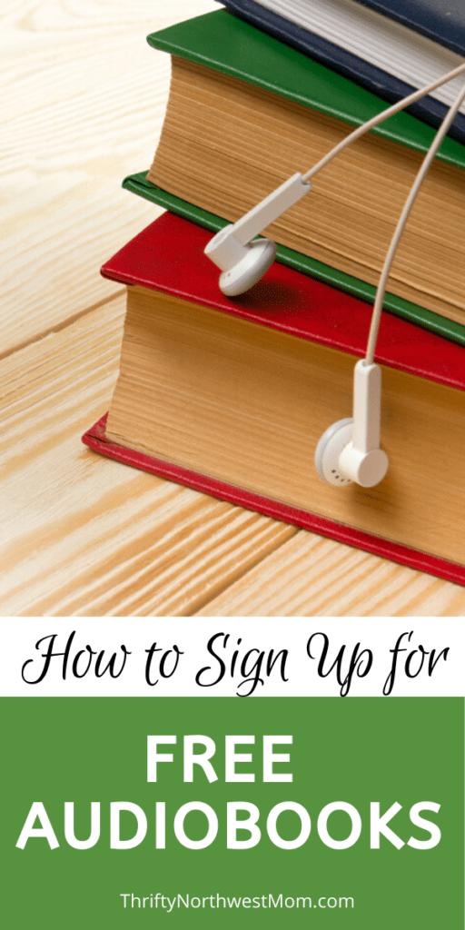 Free Audiobooks – Sign up & Get 3 Free Audiobooks!