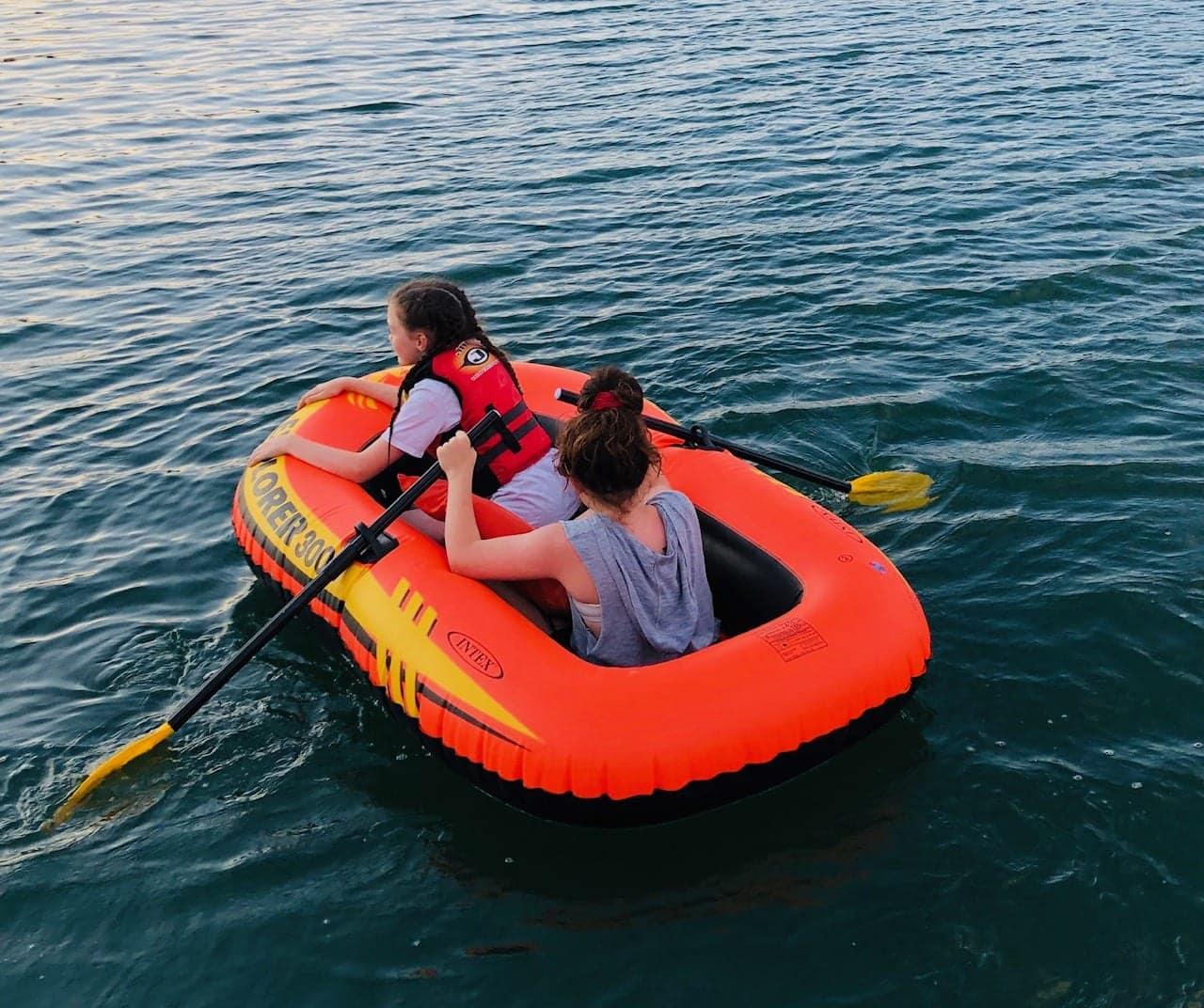 Intex Explorer 300 boat
