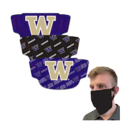 Washington Huskies Face Masks