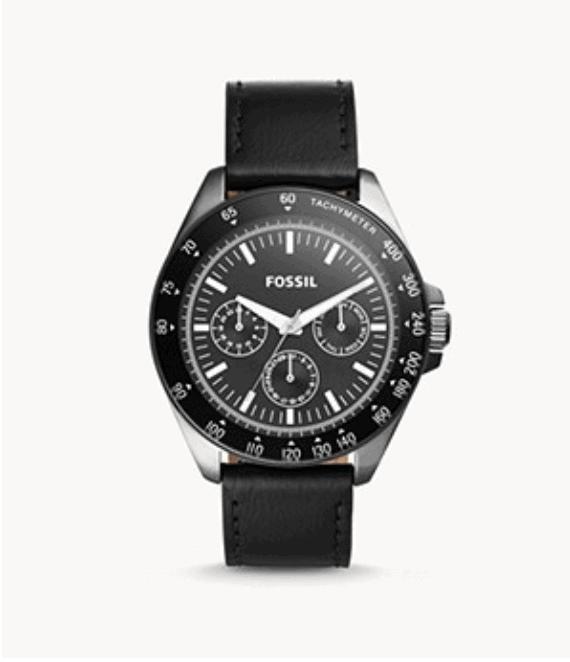 Multifunction Black Watch