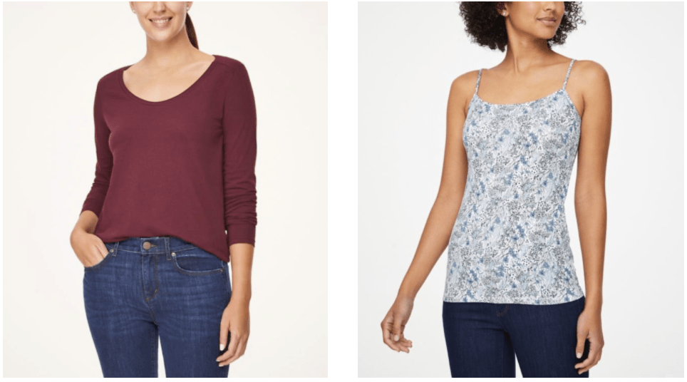 Womens tops at Loft