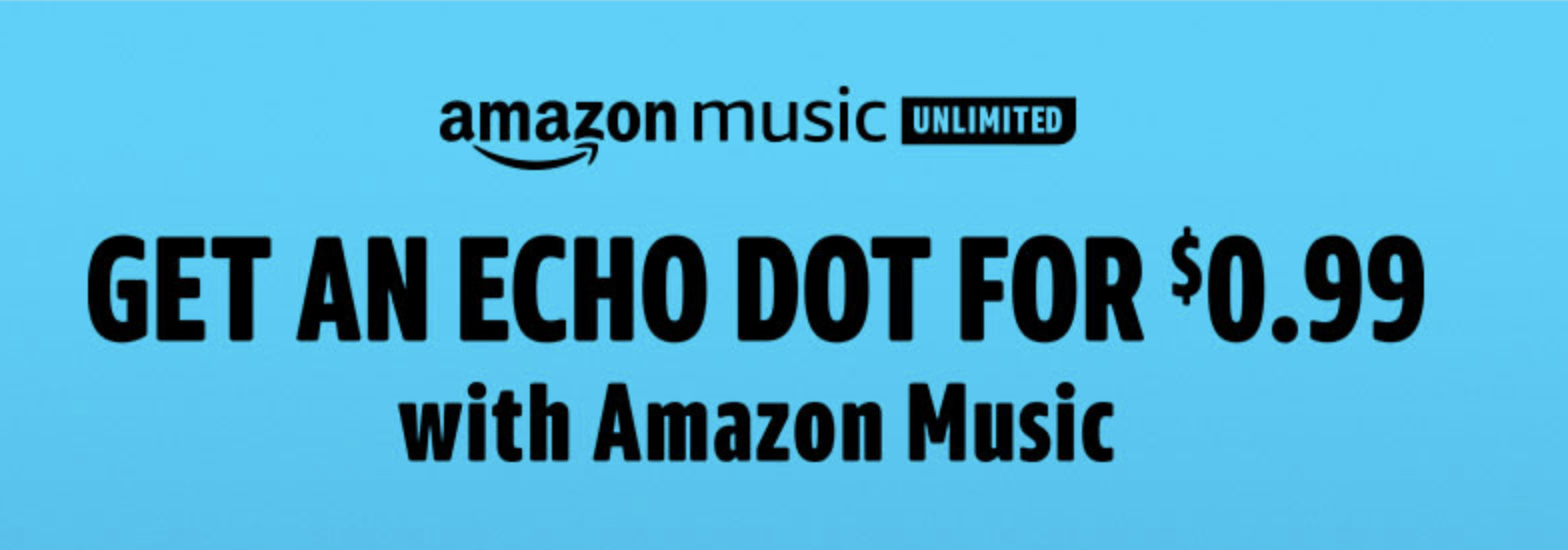 Echo Dot with Amazon Music