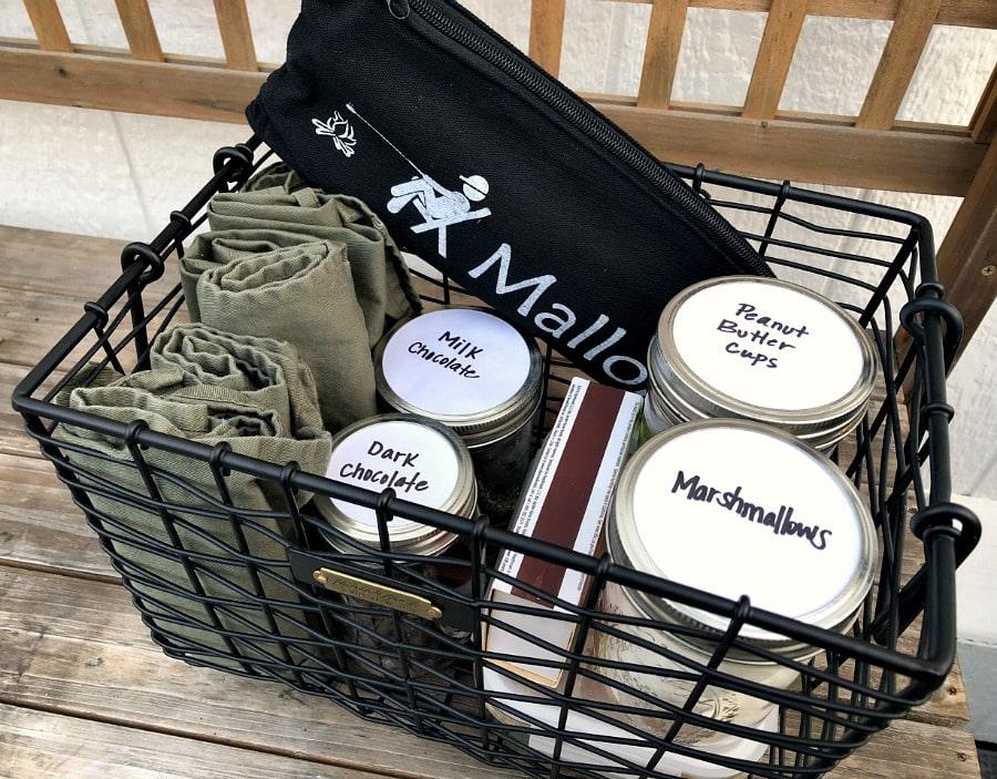 Smores kit for the Backyard