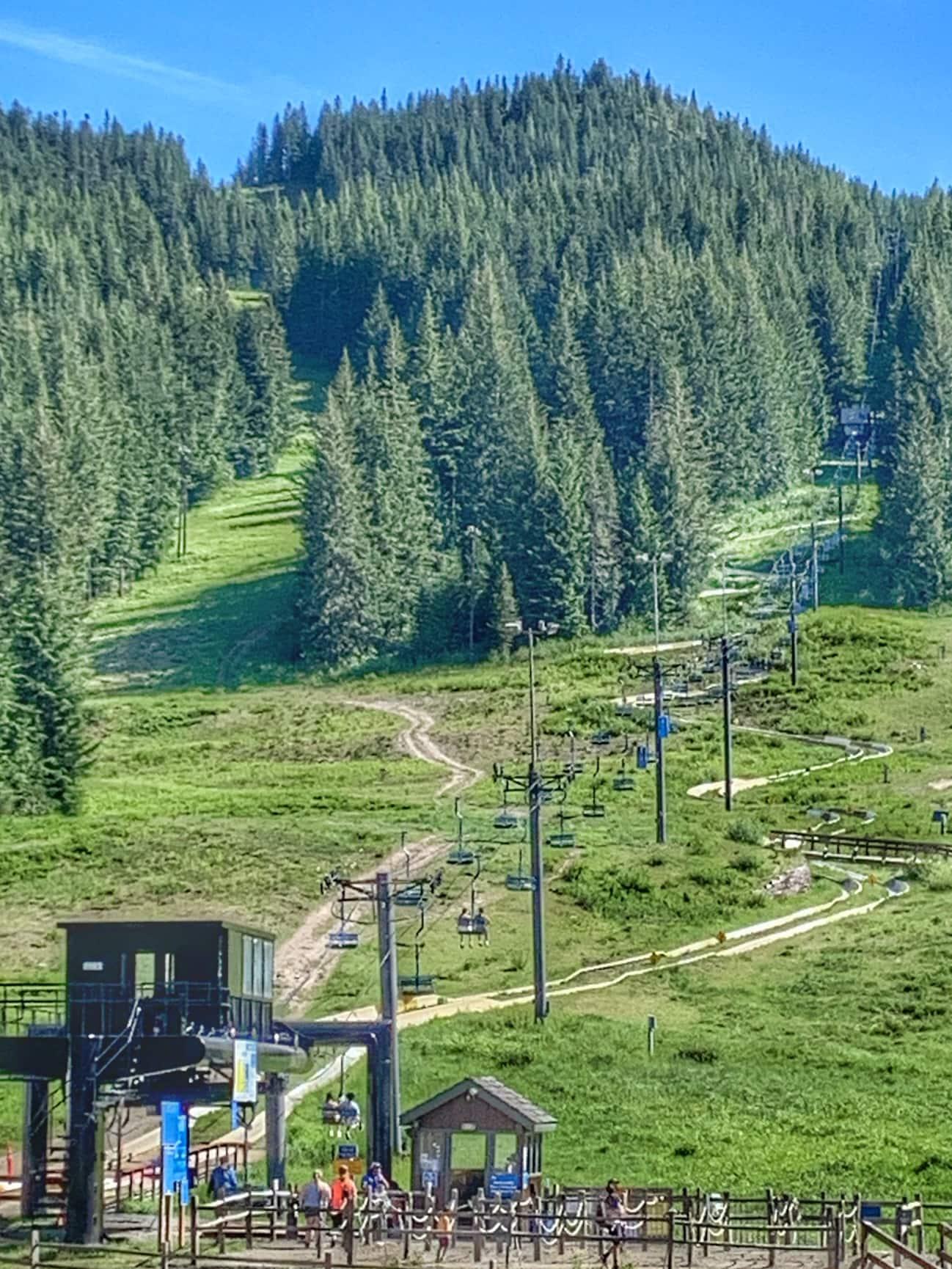 Alpine Slide at Skibowl