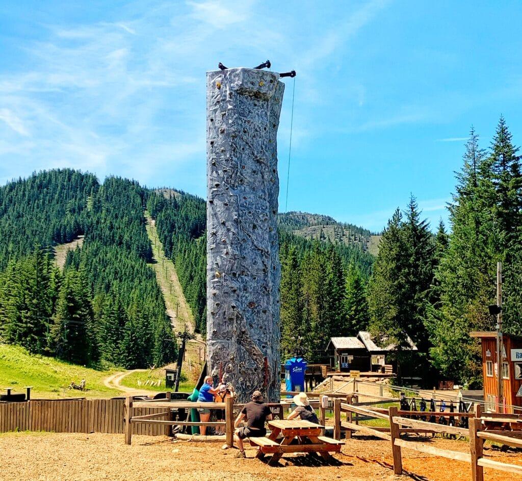 rock climbing Mt Hood