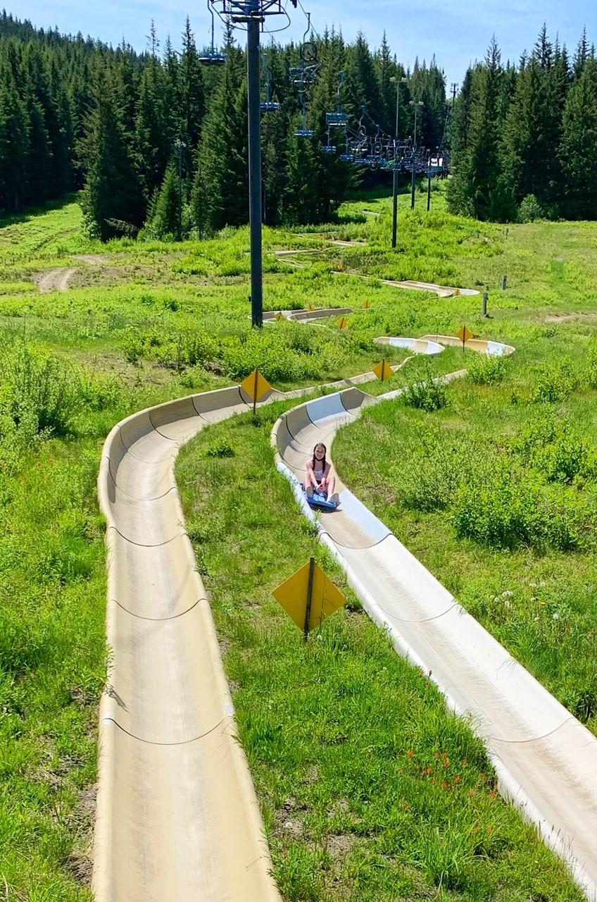 1/2 Mile Slide Mt Hood