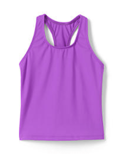 Lands End Racerback Tankini