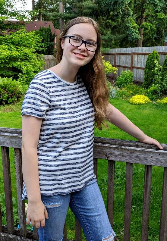 Stitch Fix Summer Shirt for Teens