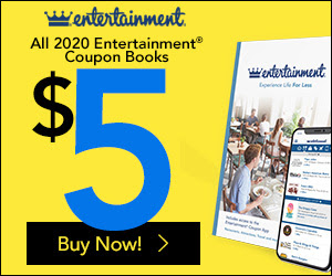 Entertainment Books on sale