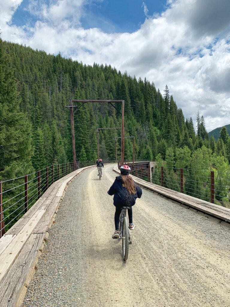 Route of the Hiawatha Bike Ride – Amazing for Most Ages!