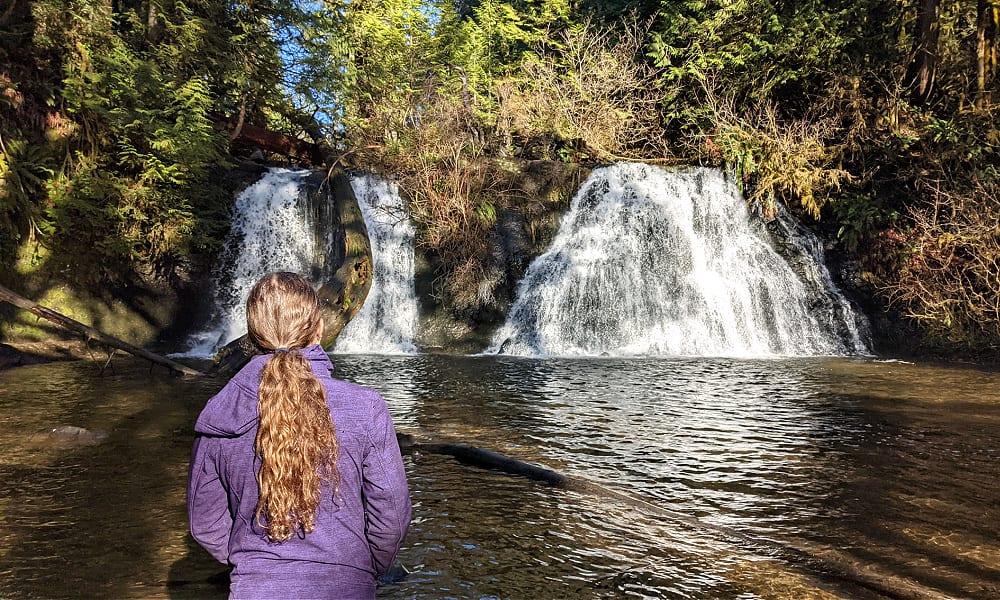 Cherry Creek Falls in Duvall WA