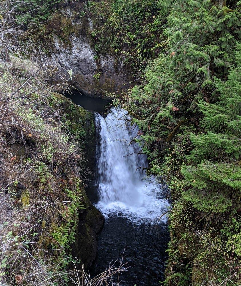 Deschutes Falls in Yelm WA