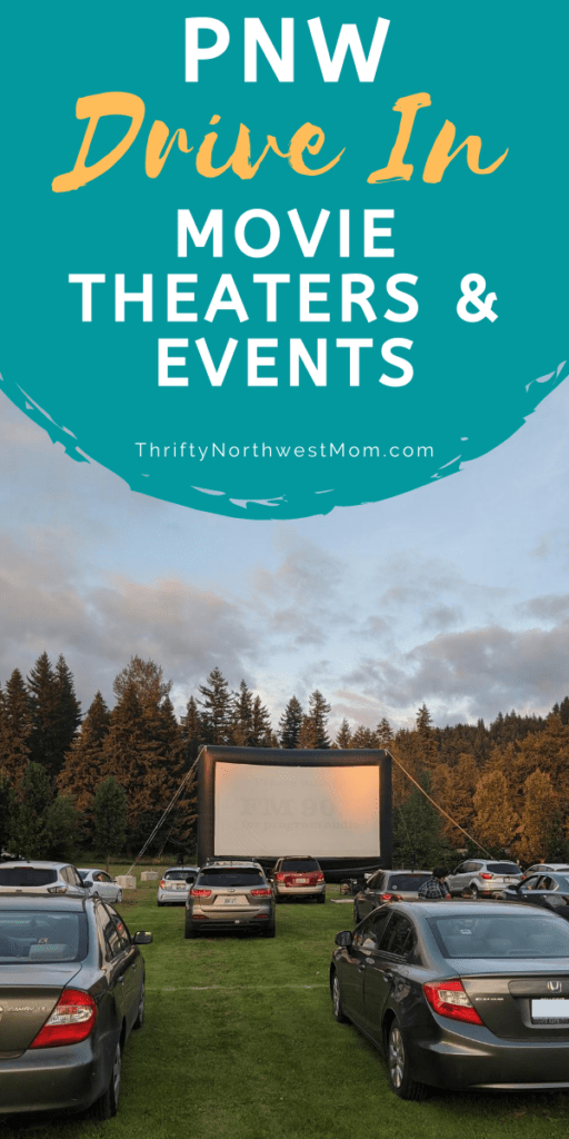 PNW Drive In Movie Theaters
